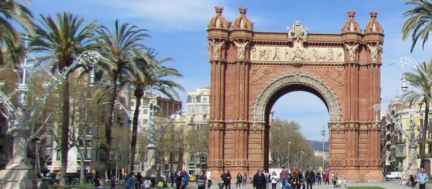 Barcelona Arc de Triomphe