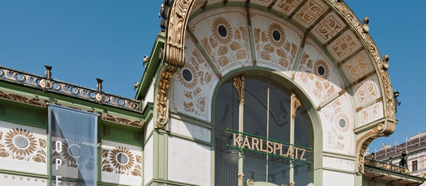 Otto Wagner – Pavillon (Karlsplatz)