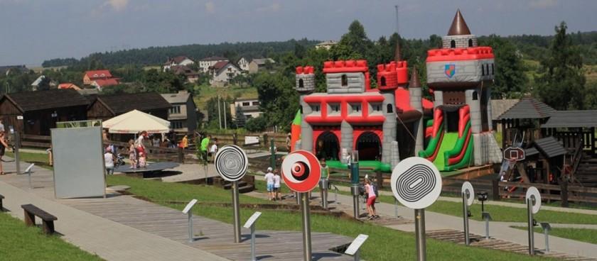 The Amusement Park in Ogrodzieniec