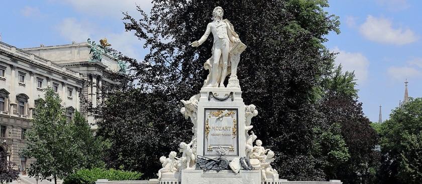 Wolfgang Amadeus Mozart Monument
