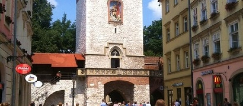Barbican and St. Florian's gate