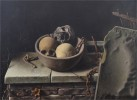 """Raul Hinkes (1893-1973). """"Still Life With Skulls And Chains"""" (1934)"""