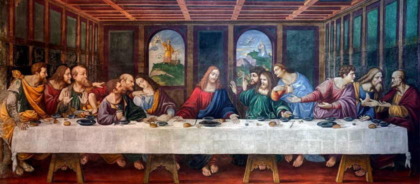 Da Vinci's Last Supper or Cenacolo Vinciano