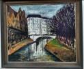Erich Heckel - Kanal in Berlin, 1912