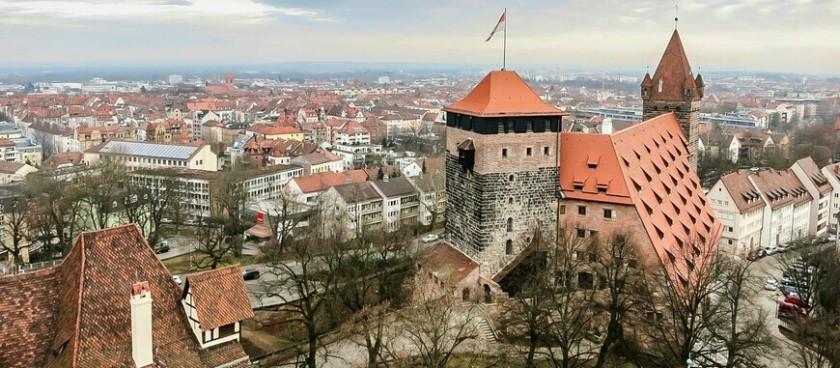 Nuremberg fortress(Kaiserburg Nürnberg)