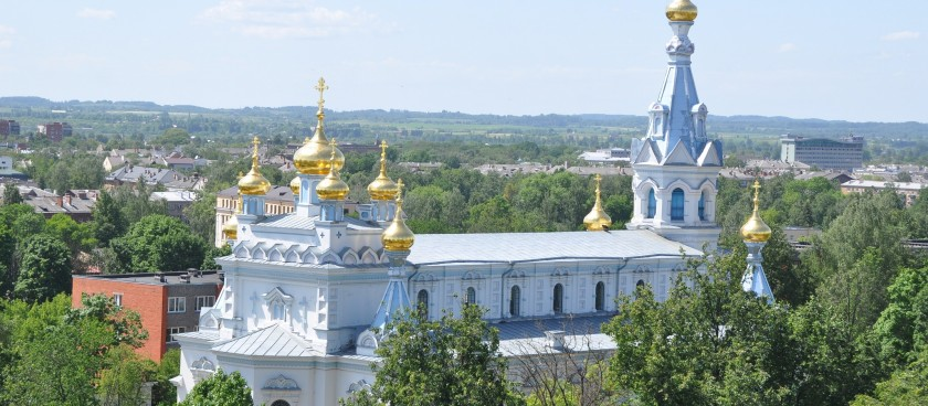 St. Boriss & Gleb Russian Orthodox Cathedral in Daugavpils
