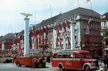 1937 Unter den Linden decorated for Mussolini's visit