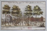 Unter den Linden in an old drawing
