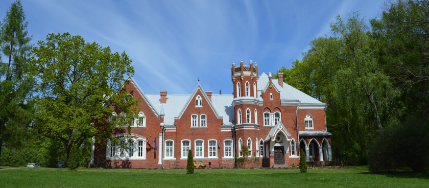 Vecsaliena (Chervonka) Manor Castle